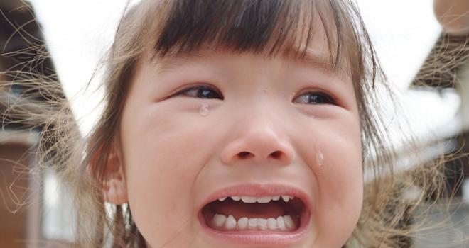 笑う事より泣いてストレス解消