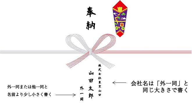 のし_会社名_表書き_奉納_名目_外一同_他一同_神社お祭りに寄付の表書きのし袋奉納の書き方の注意点!