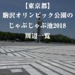 【東京都】駒沢オリンピック公園のじゃぶじゃぶ池2018!周辺一覧